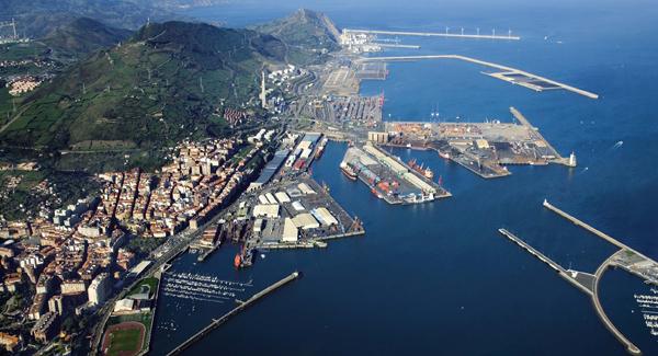 imagen del puerto de Bilbao