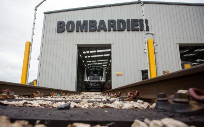 bombardier fábrica