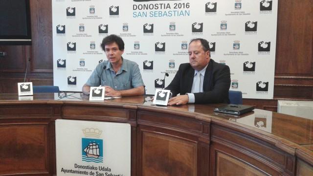 José Miguel Corres, Presidente de los Parques Tecnológicos de Euskadi y el concejal de Urbanismo del Ayto. de Donostia