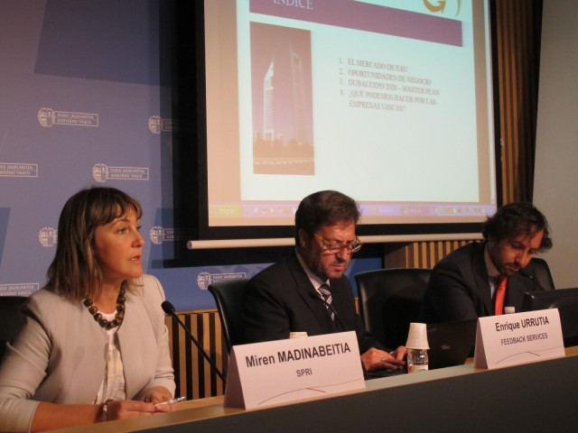 Miren Madinabeitia, directora de internacionalización de SPRI