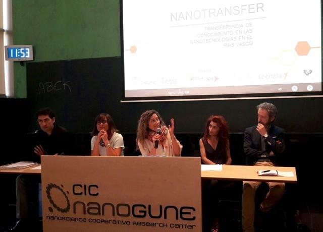 Presentación de la iniciativa Nanotransfer