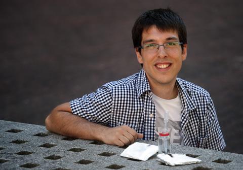 Alexander Santiago, de la UPV