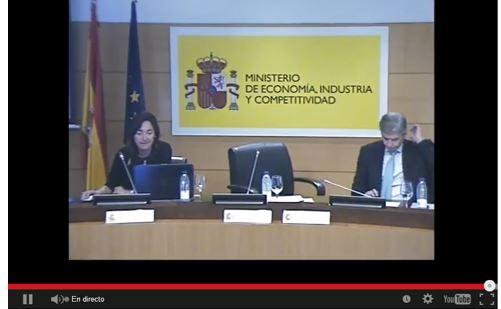Cristina Oyon en Madrid