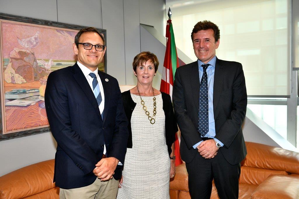 tapia con secretarios Estado Argentina