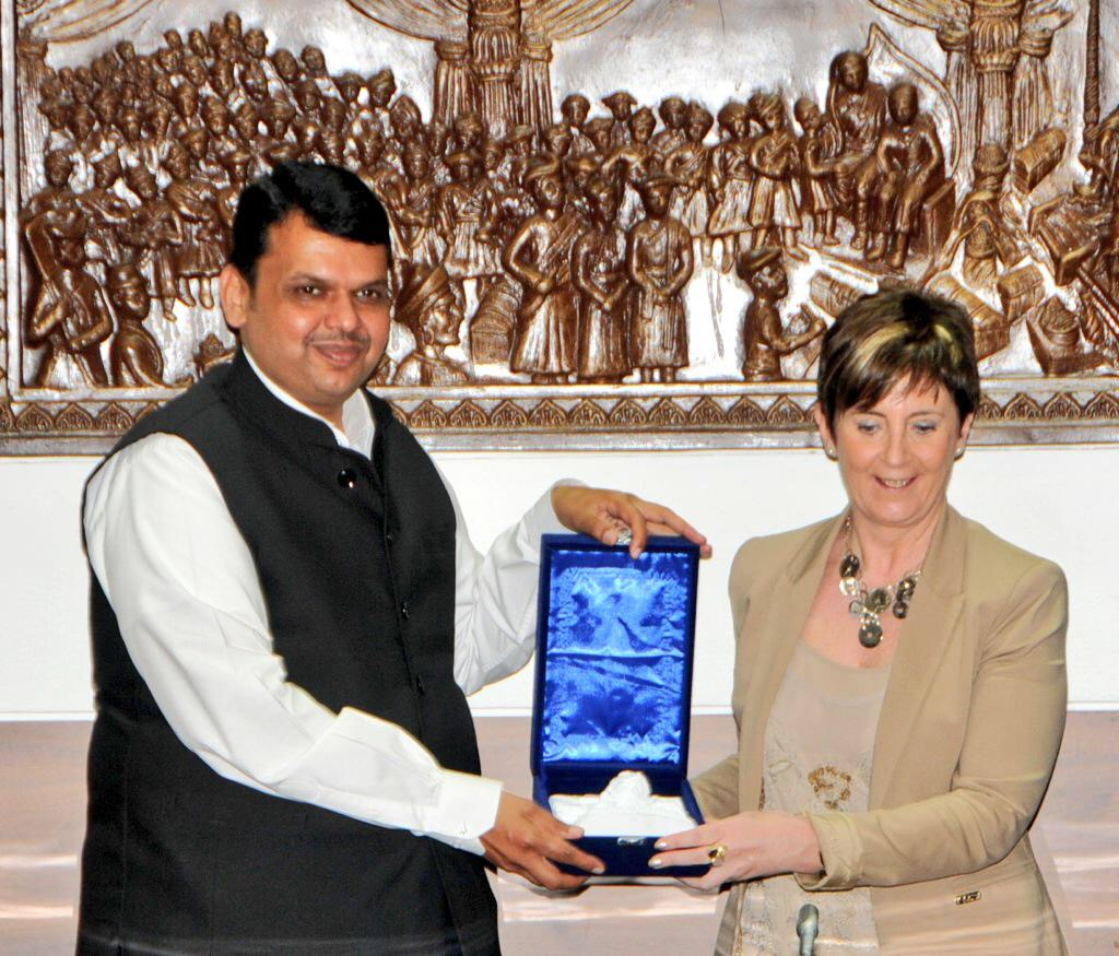 Arantxa Tapia y primer ministro India